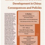 Gender Imbalance and Social Development in China January 26, 2012