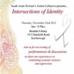 Intersections of Identity November 22, 2012