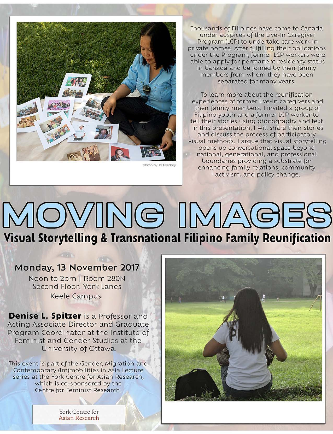 Moving Images: Visual Storytelling and Transnational Filipino Family Reunification
